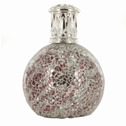 Silver Red Fragrance lamp